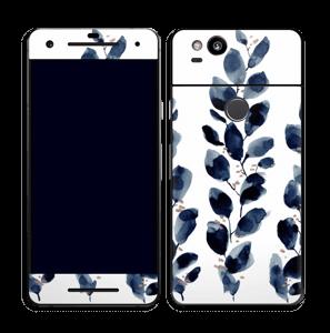 Blå løv Skin Pixel 2
