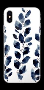Blå blade Skin IPhone XS