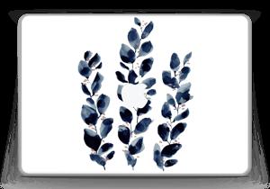 """Blå løv Skin MacBook Pro 13"""" -2015"""