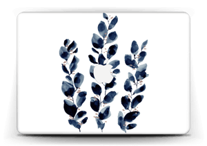Blue leaf  Skin MacBook Air 13""