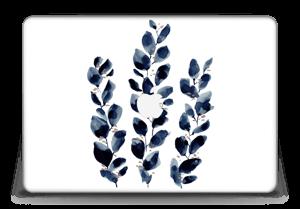 """Blue leaf  Skin MacBook Pro Retina 15"""" 2015"""