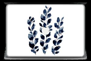 """Blå løv Skin MacBook Pro 15"""" -2015"""