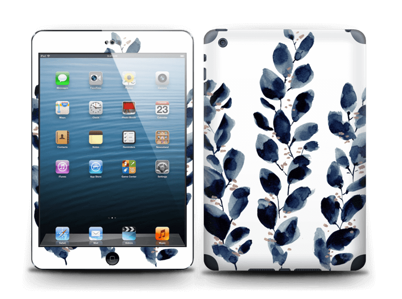 Blå løv Skin IPad mini 2
