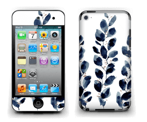 Blue leaf  Skin IPod Touch 4th Gen