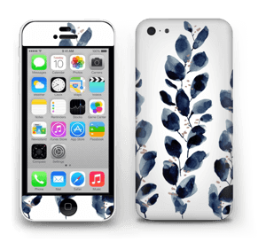 Blå løv Skin IPhone 5c