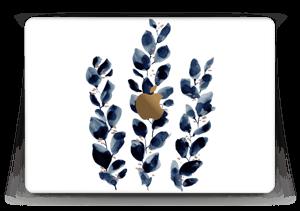 "Blå blade Skin MacBook 12"""