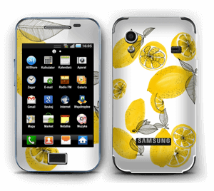 Sweet lemons  Skin Galaxy Ace