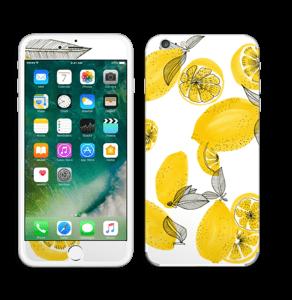 Gule sitroner Skin IPhone 6 Plus