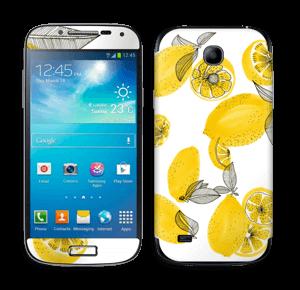 Gule sitroner Skin Galaxy S4 Mini
