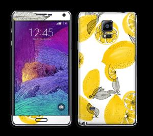 Gule sitroner Skin Galaxy Note 4