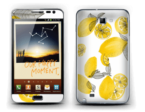 Sweet lemons  Skin Galaxy Note