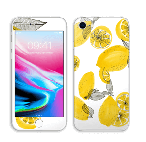 Gule sitroner Skin IPhone 8