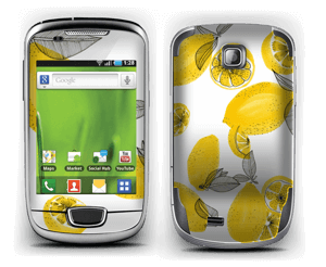 Gule sitroner Skin Galaxy Mini