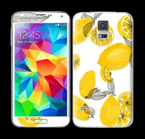 Gule citroner Skin Galaxy S5