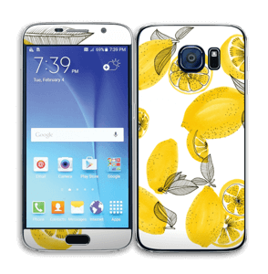 Gule citroner Skin Galaxy S6