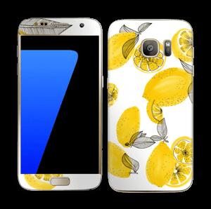 Gule citroner Skin Galaxy S7