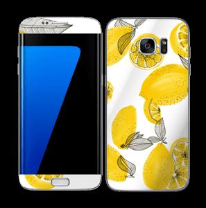 Gule sitroner Skin Galaxy S7 Edge