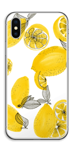 Gule citroner Skin IPhone X