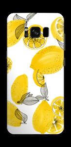 Gula citroner Skin Galaxy S8