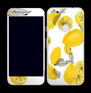 Gelbe Zitronen Skin Pixel