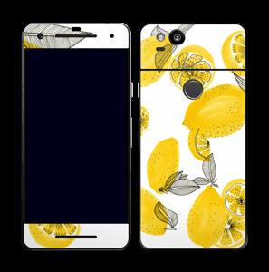 Gelbe Zitronen Skin Pixel 2