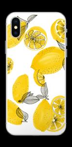 Gule citroner Skin IPhone XS