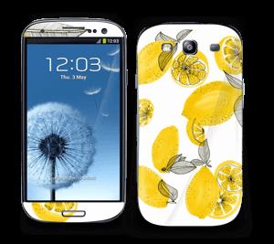 Gule sitroner Skin Galaxy S3
