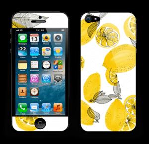 Gule sitroner Skin IPhone 5