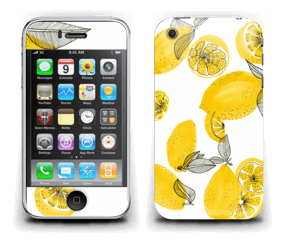 Gule sitroner Skin IPhone 3G/3GS