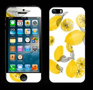 Gule sitroner Skin IPhone 5s