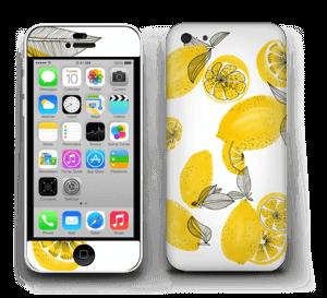 Gule sitroner Skin IPhone 5c