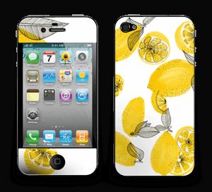 Gule sitroner Skin IPhone 4/4s