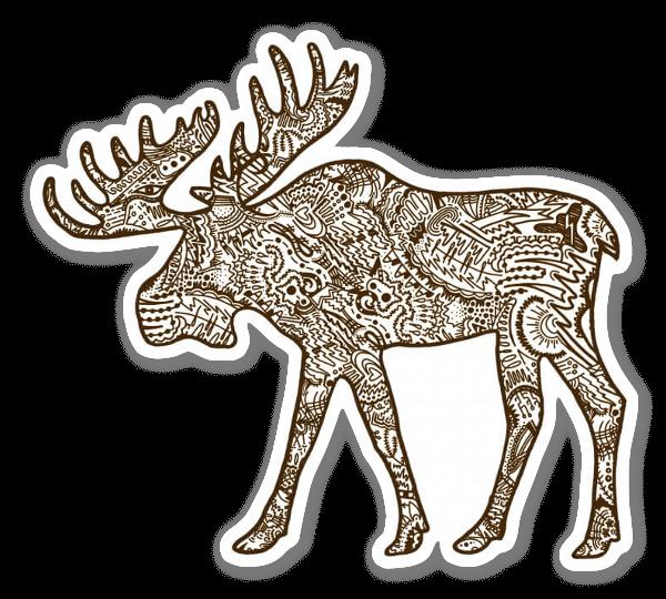 Elg sticker