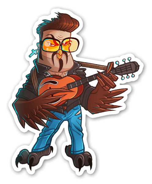 George Mich-OWL  sticker