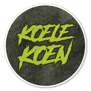 KoeleKoen Circle sticker