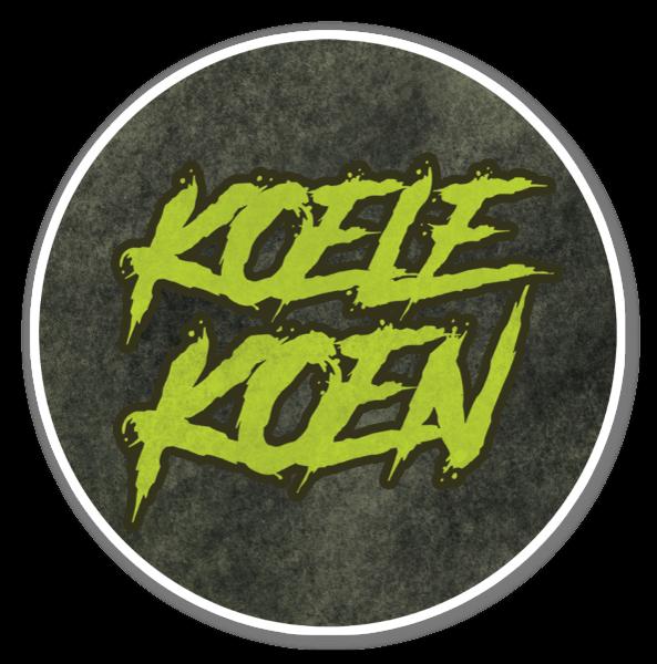 KoeleKoen Circle  sticker