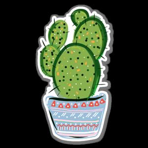 Cactus love 9 sticker