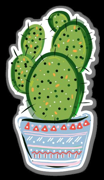 Cacti love  sticker