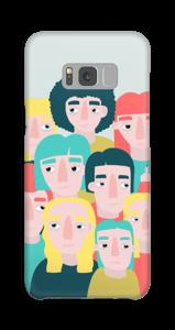 Mennesker cover Galaxy S8 Plus