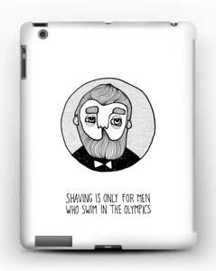 Shaving is only... kuoret IPad 4/3/2