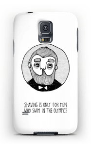 Shaving is only... cover Galaxy S5