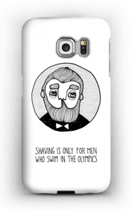 Shaving is only…  case Galaxy S6 Edge
