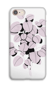 Feuilles roses Coque  IPhone 8