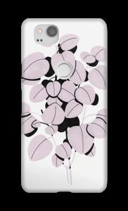 Foglie rosa cover Pixel 2