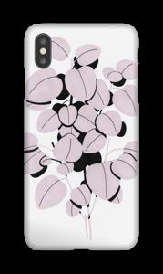 Rosa blad  deksel IPhone XS Max