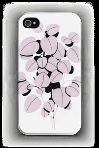 Roosa terälehti kuoret IPhone 4/4s
