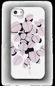 Feuilles roses Coque  IPhone 5/5S