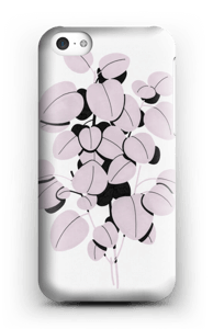 Pink Leaves case IPhone 5c