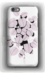 Rosa blad skal IPhone 6 Plus tough