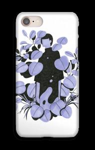 Blå blade cover IPhone 8